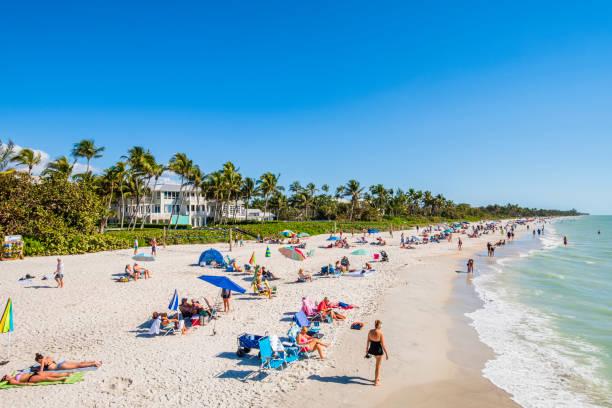 Florida (US) - Naples Beach stock photo