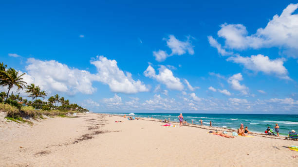 Florida (US) - Palm Beach stock photo