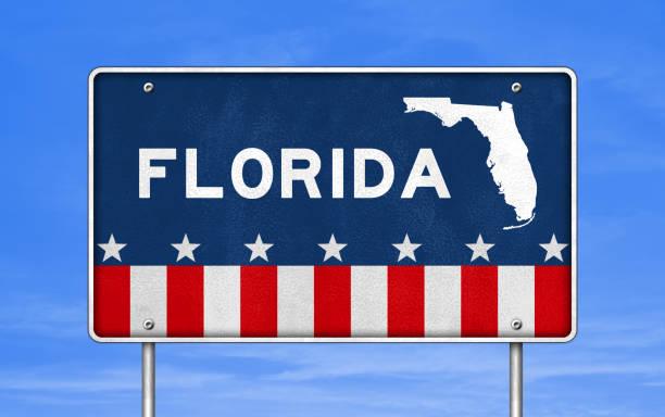 Florida - Straßenschild – Foto
