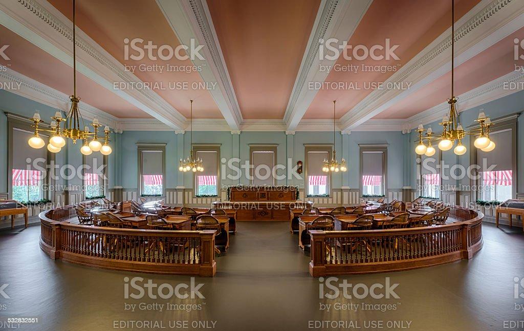 Florida Senate Chamber stock photo