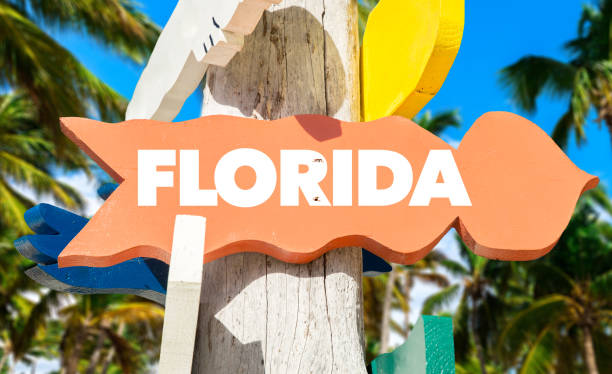 florida sign - orlando florida photos stock photos and pictures