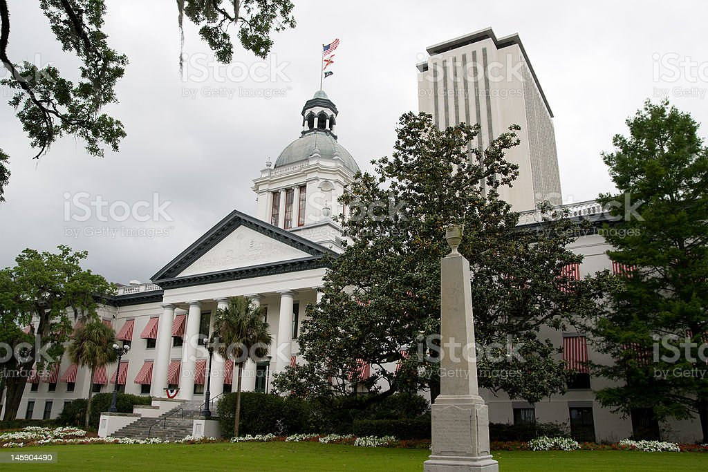 Florida State Capitol Building stock photo