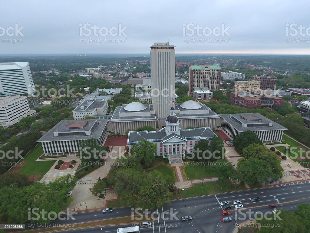 Florida State Capitol Building Tallahassee FL stock photo