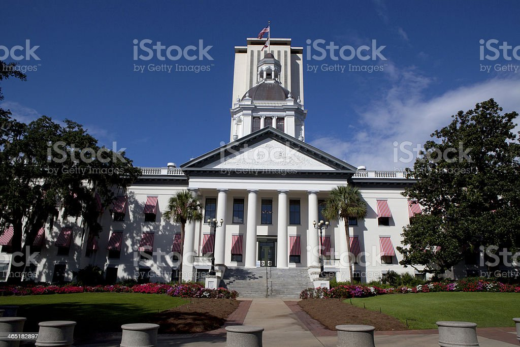 Florida State Capitol in Tallahassee stock photo