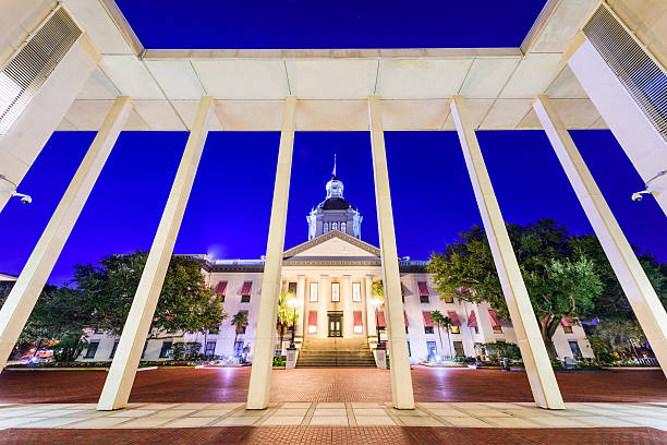 florida state capitol - capital cities stock pictures, royalty-free photos & images