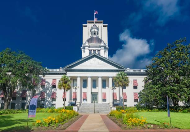 Capitolio del estado de Florida, Tallahassee Florida - foto de stock