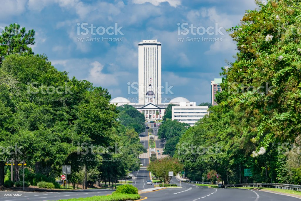 Florida State Capitol, Tallahassee Florida stock photo