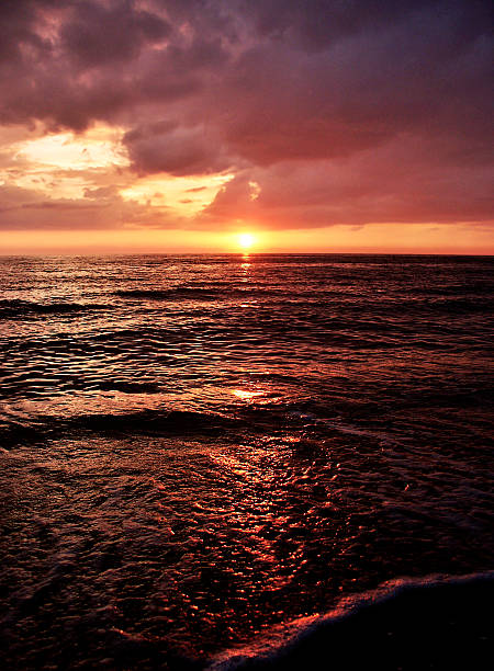 Florida Sunset 2 stock photo
