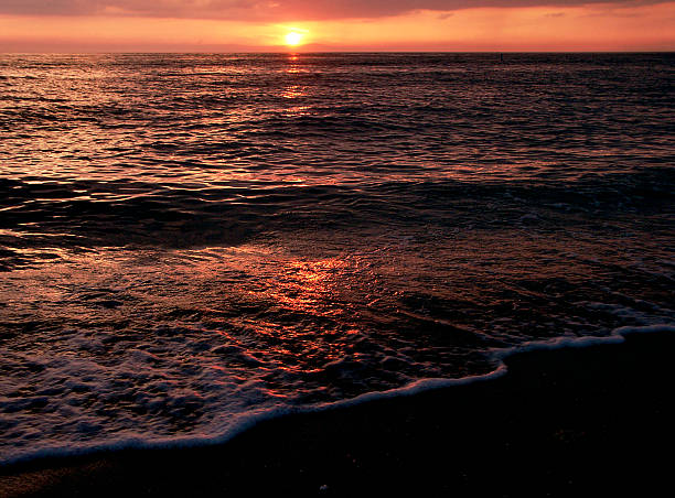 Florida Sunset 3 stock photo