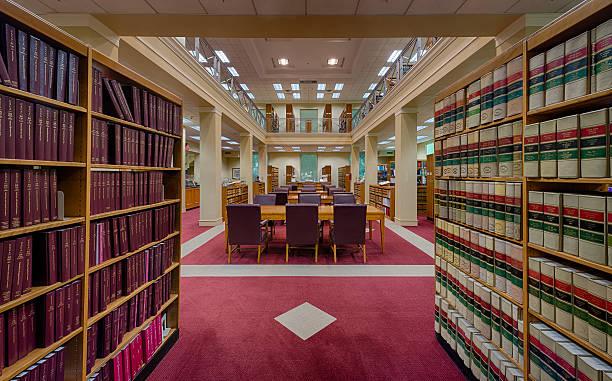 corte suprema de florida de la biblioteca - biblioteca de derecho fotografías e imágenes de stock