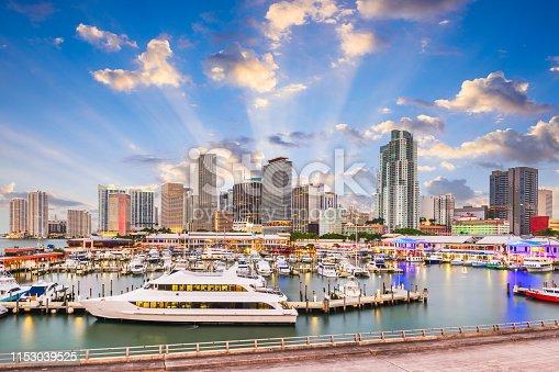 istock Florida, USA Skylinee 1153039525