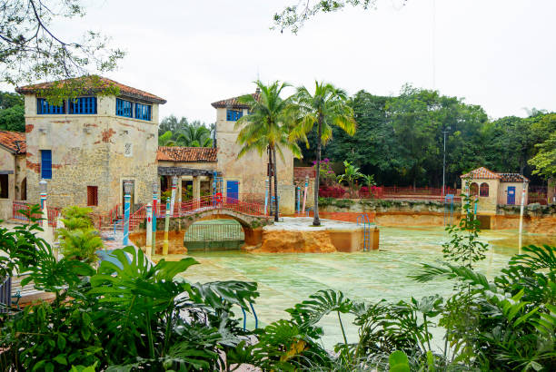 Florida, USA, venezianischer Pool in Korallen Gables. – Foto