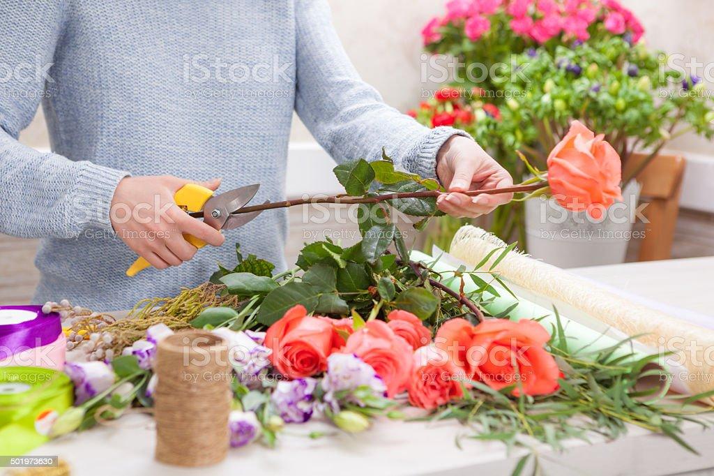 Florist der Arbeit – Foto
