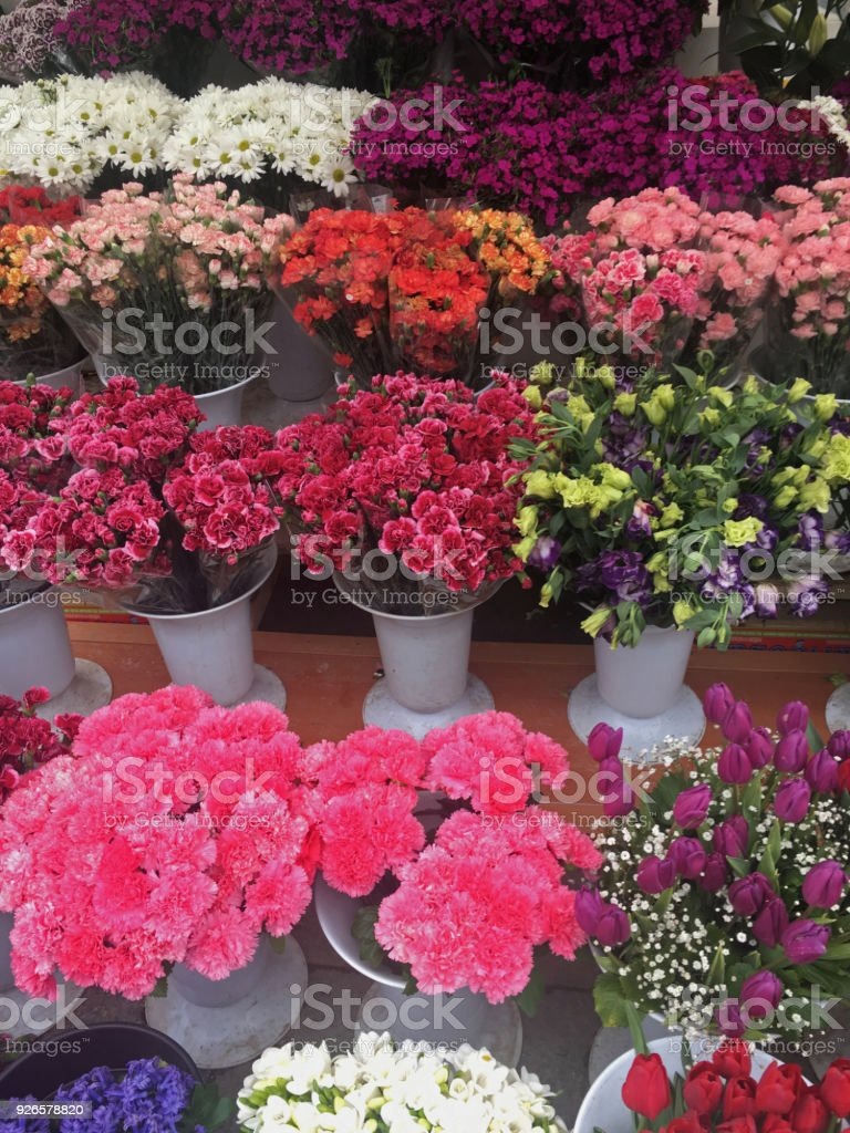 Florist shop stock photo more pictures of bouquet istock florist shop royalty free stock photo izmirmasajfo