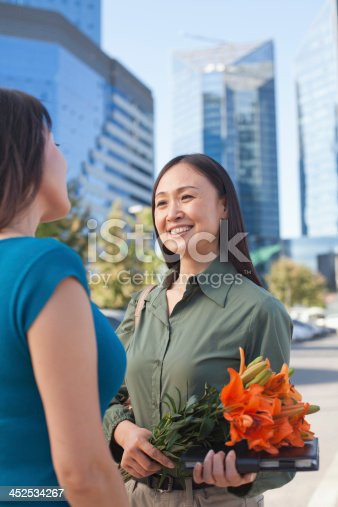 862201618 istock photo Florist Working In Flower Shop 452534267