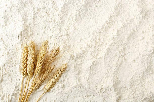 flour background stock photo