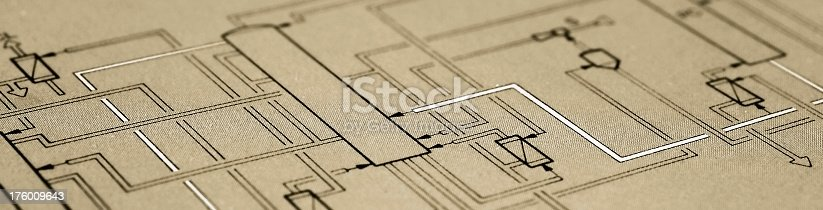 istock Flow diagram 176009643