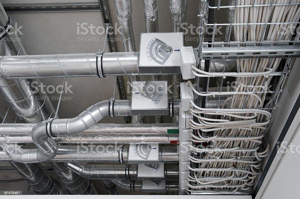 Flow regulators stock photo