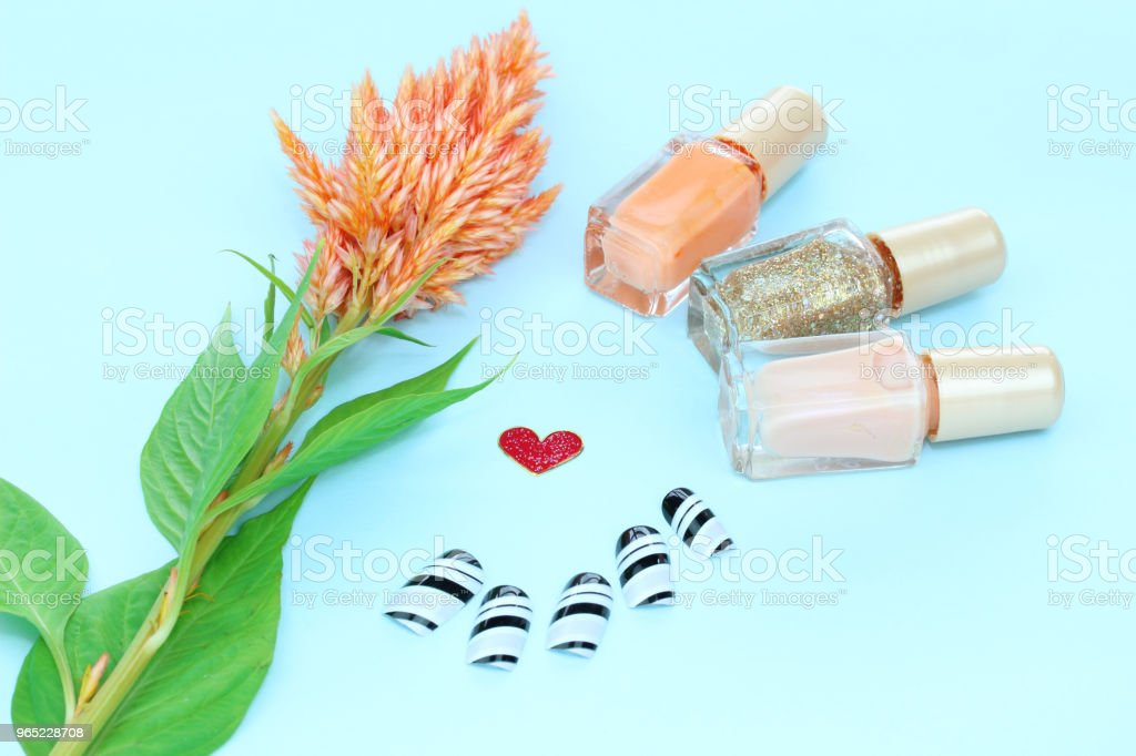 flower and Cosmetic royalty-free stock photo