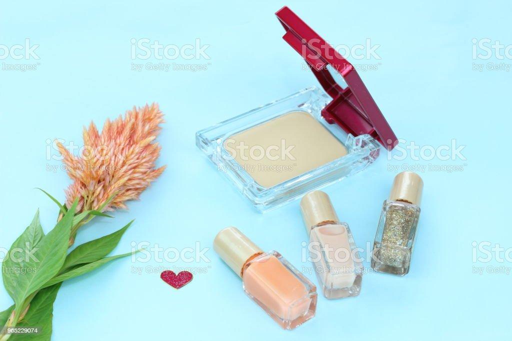 flower and Cosmetic zbiór zdjęć royalty-free