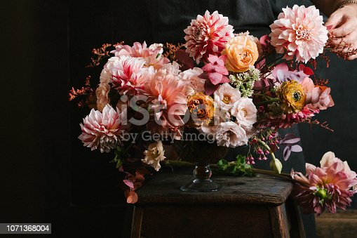Flower arrangement.