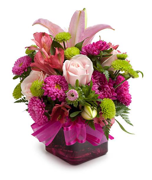 flower arrangement - bloemstuk stockfoto's en -beelden