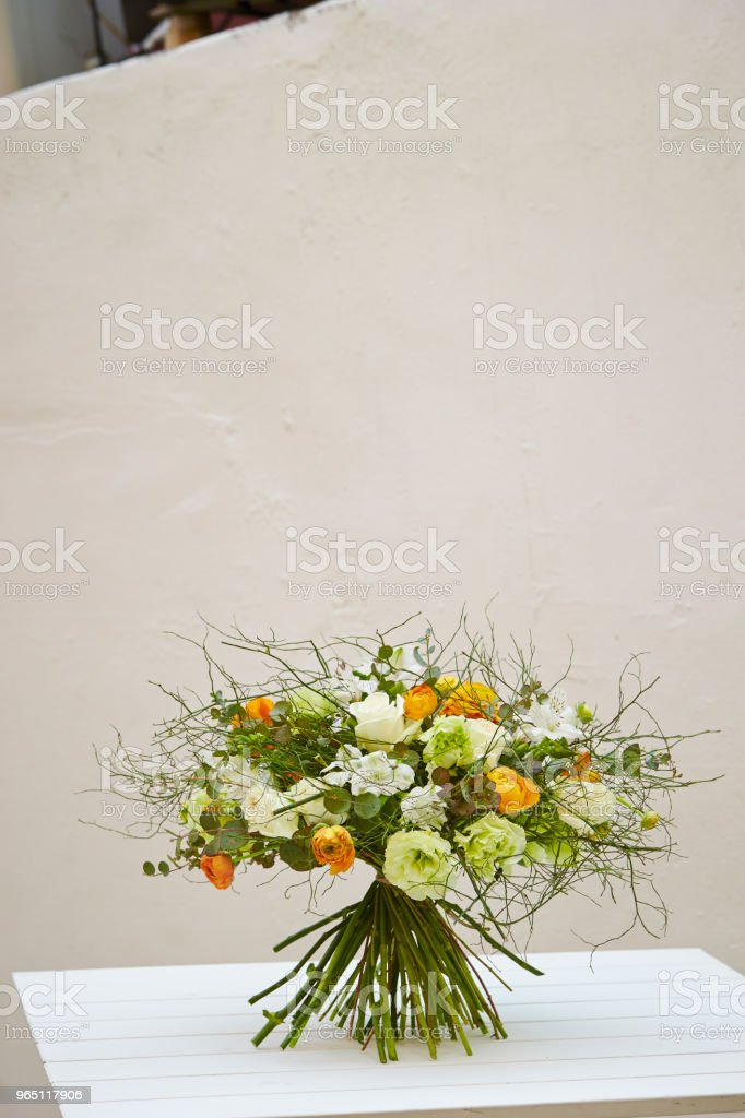Flower arrangement zbiór zdjęć royalty-free