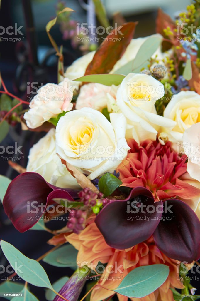Blumenschmuck - Lizenzfrei Arrangieren Stock-Foto