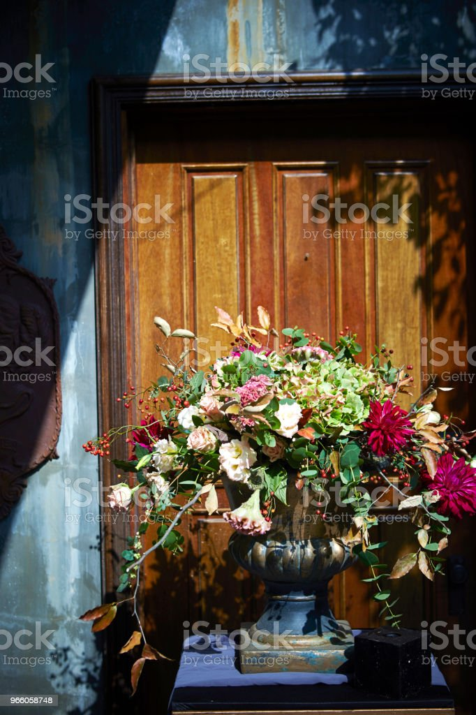 Flower arrangement - Royalty-free Arranging Stock Photo
