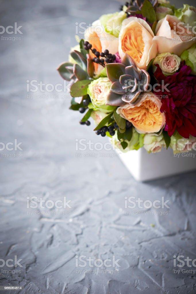 Flower arrangement - Royalty-free Arranging Stock Photo