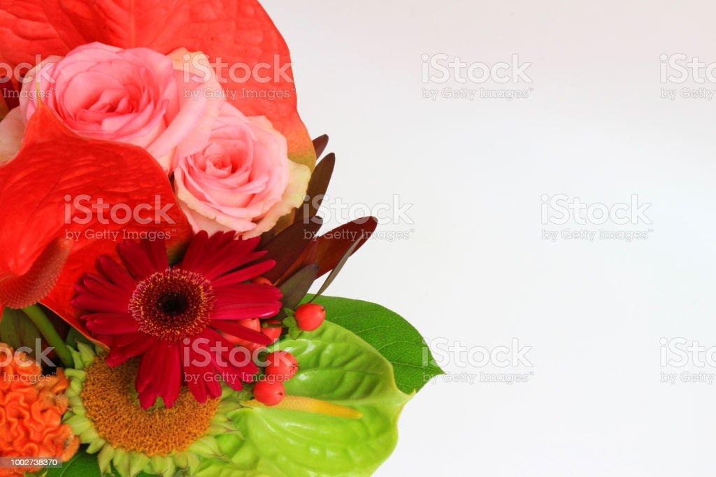 Arreglo De Flores Que Es Adecuado Para El Verano Foto De