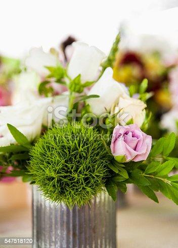 Flower Market. Flower Arrangement