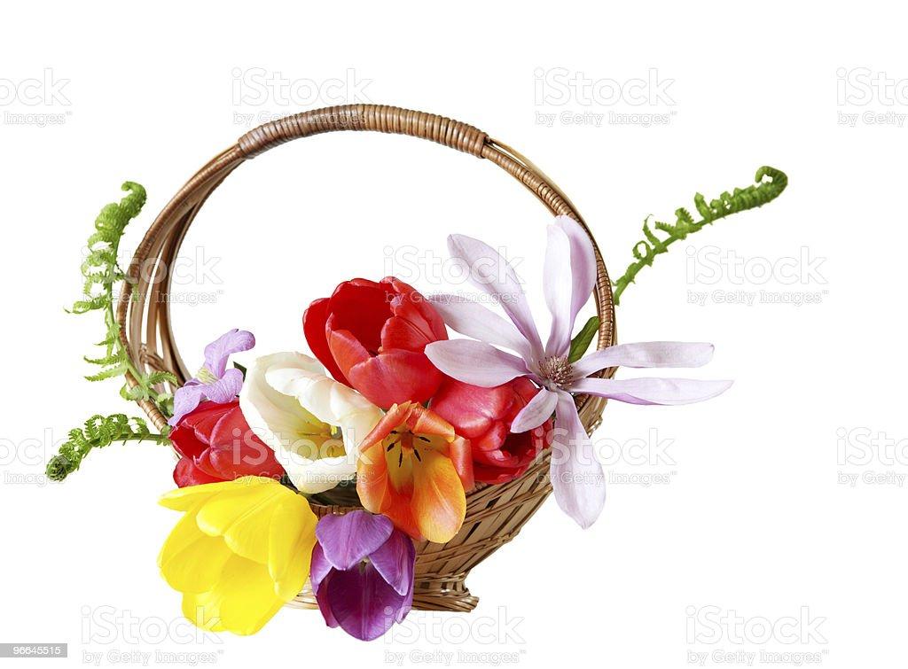 Flower Basket royalty-free stock photo