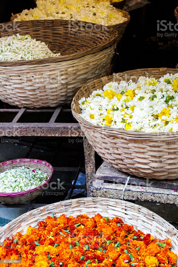 Blumenkörbe – Foto