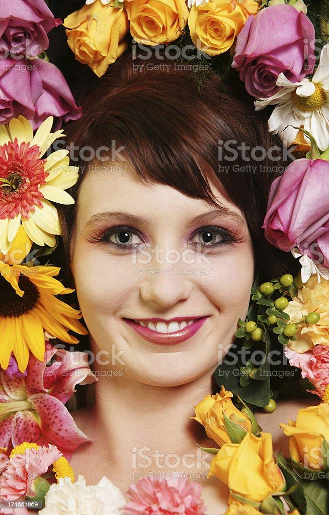 Blume-Schönheit Lizenzfreies stock-foto