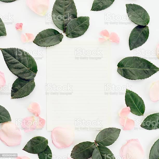 Flower blank sheet of paper composition flatlay picture id635958480?b=1&k=6&m=635958480&s=612x612&h=eabak lmfzrxpvrd segg3n3o ivzk74q5jkmbj3a38=