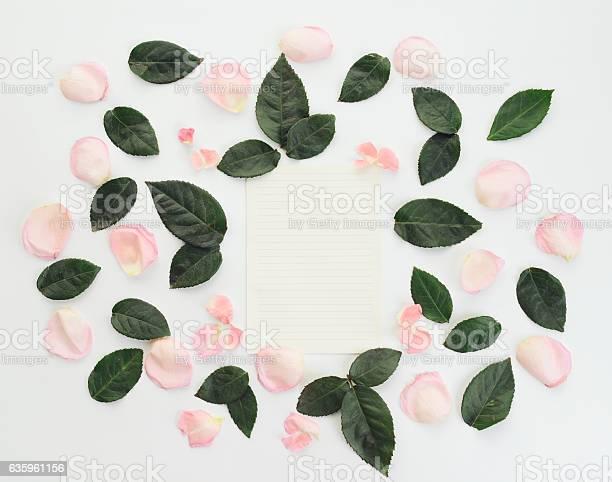 Flower blank sheet of paper composition flatlay picture id635961156?b=1&k=6&m=635961156&s=612x612&h=x4bnavorwk7z0maihq7urdob4nl mm rot7kcbripgo=