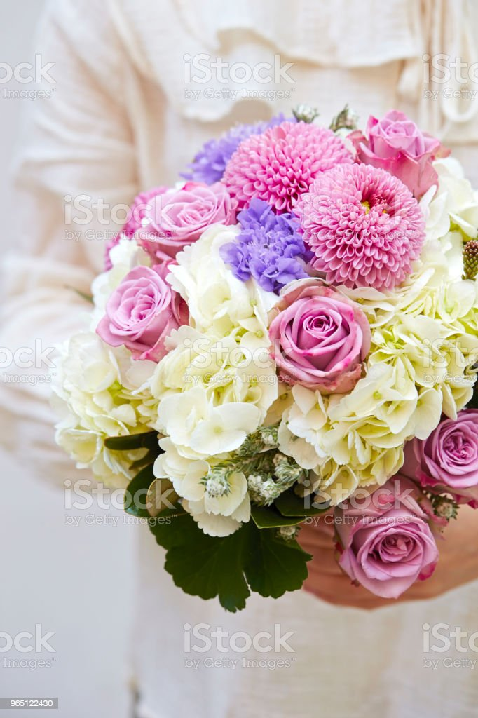 Flower bouquet zbiór zdjęć royalty-free