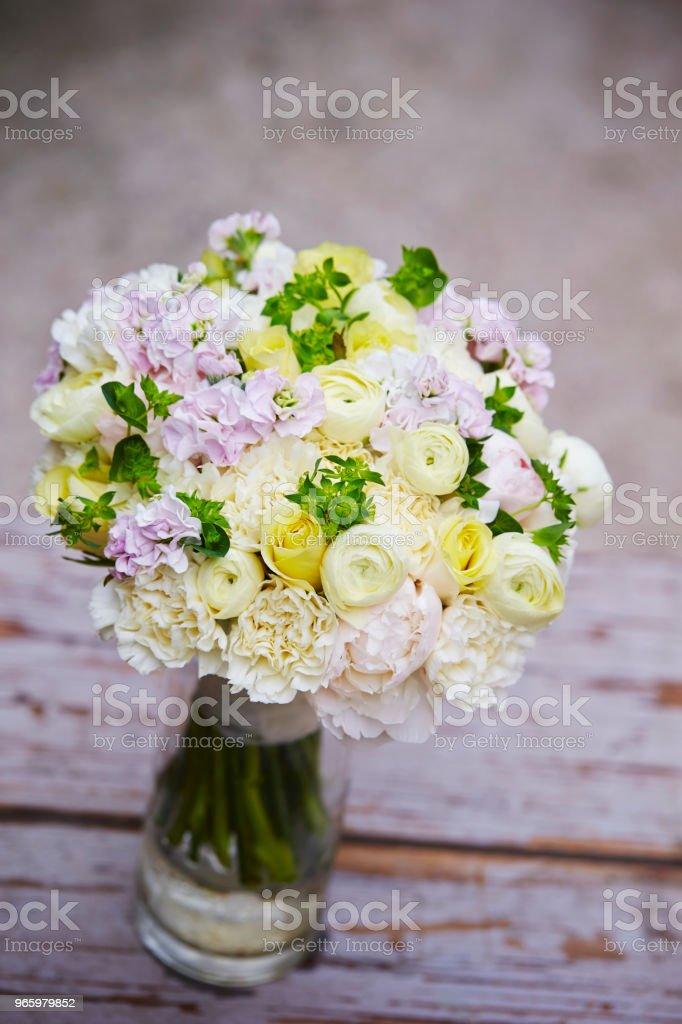 Flower bouquet - Royalty-free Artigo de Decoração Foto de stock