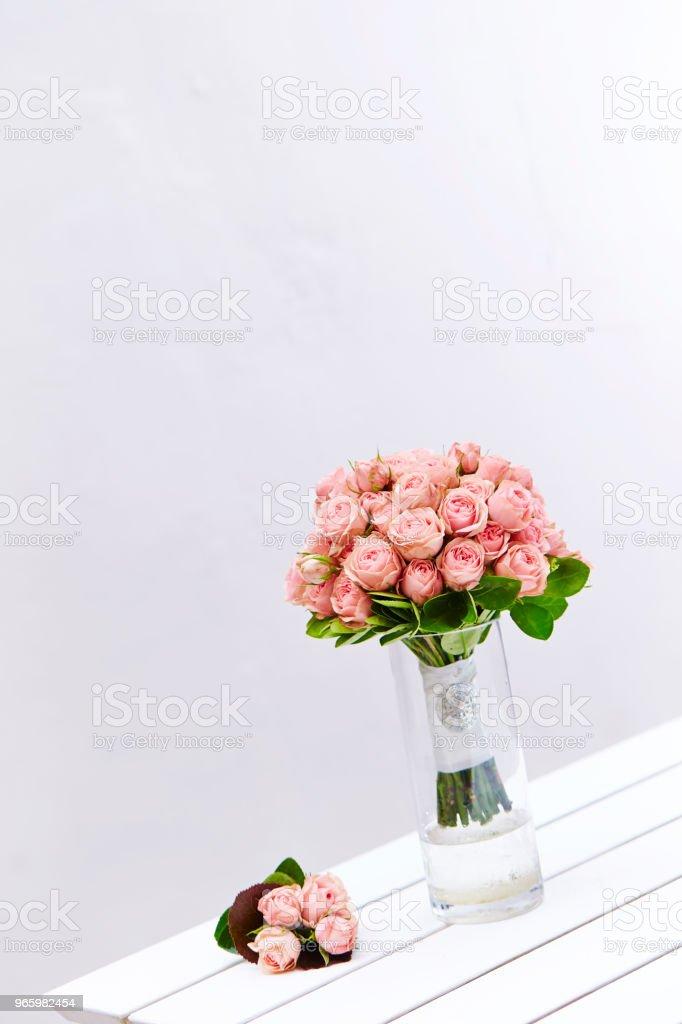 Flower bouquet Rose bouquet Beauty Stock Photo