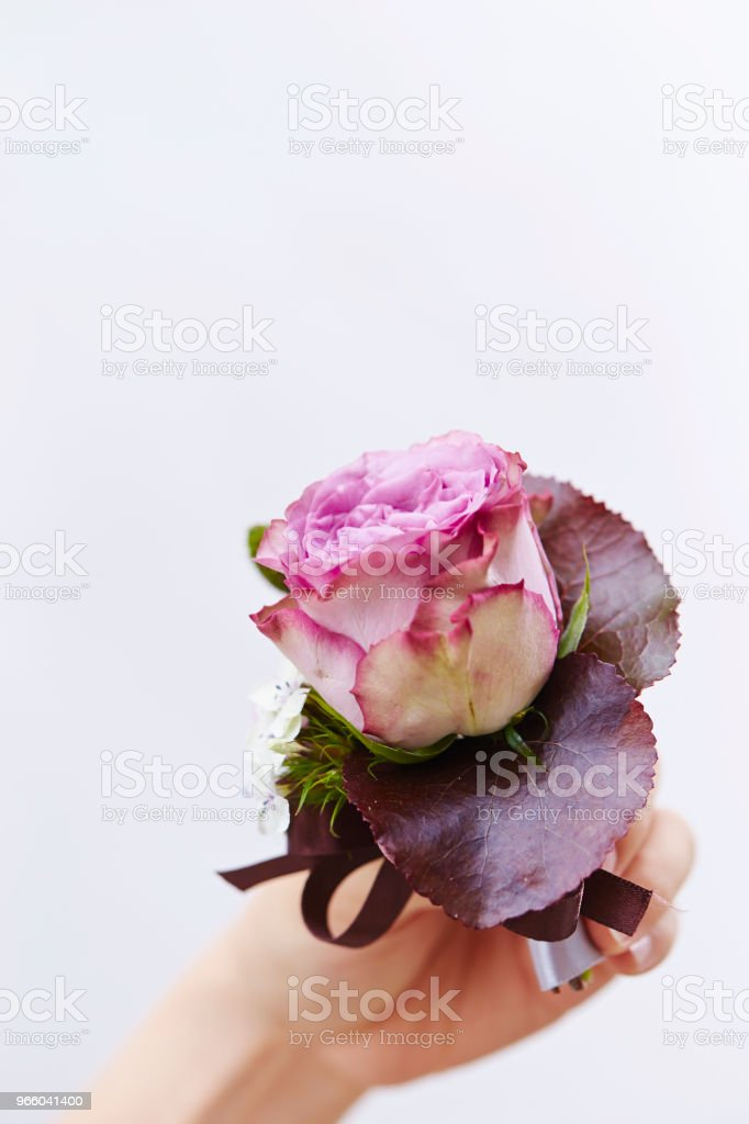 Flower bouquet - Стоковые фото Белый фон роялти-фри