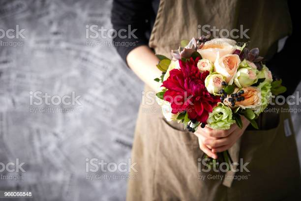 Blombukett-foton och fler bilder på Blomkorg - Blomdel