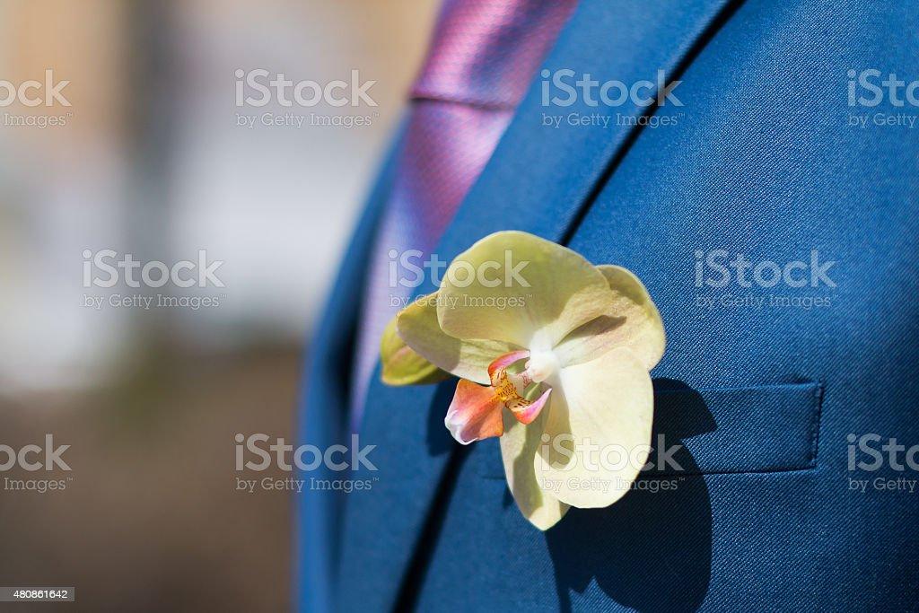 Fleur de Fleur à la boutonnière - Photo