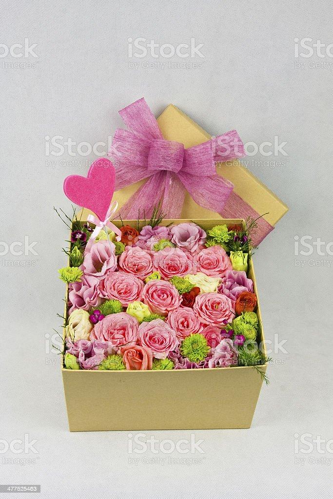 Flower box royalty-free stock photo