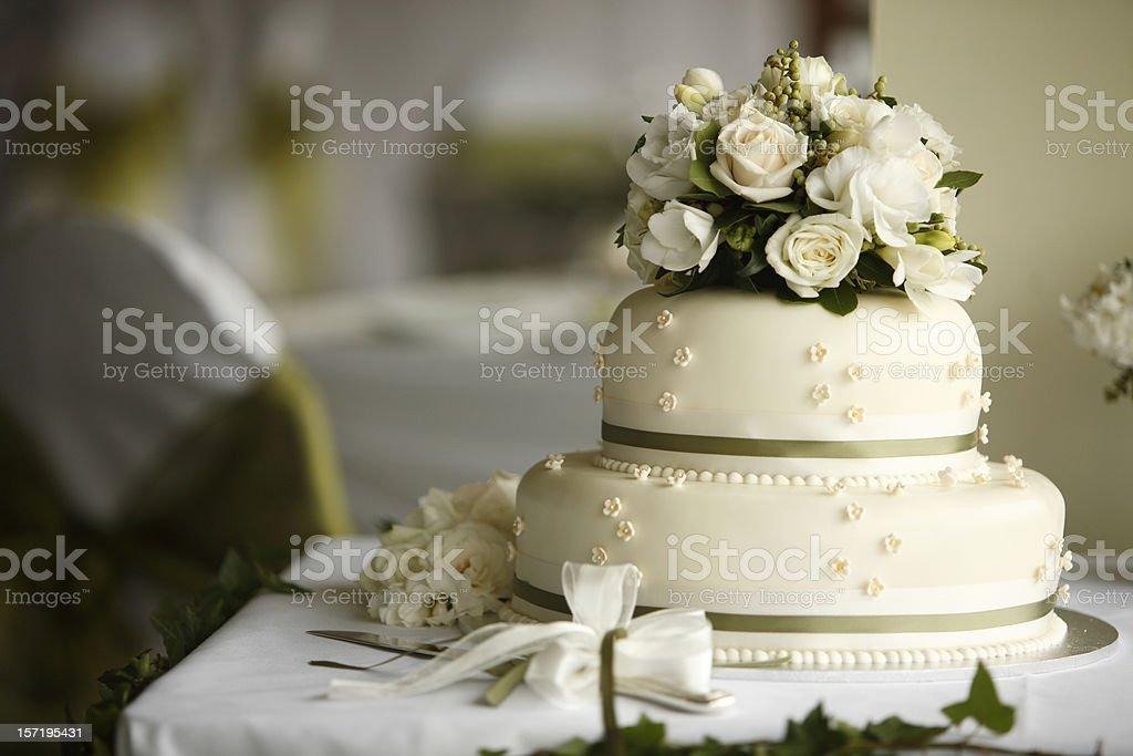Flower Cake royalty-free stock photo
