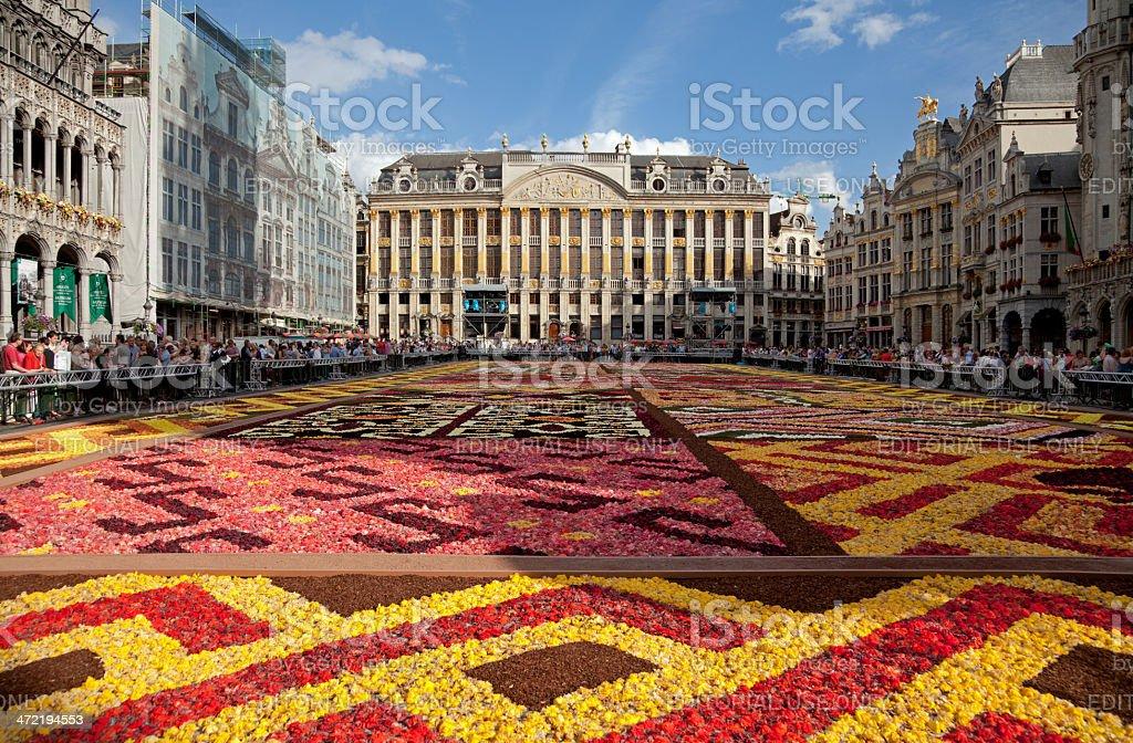 Tappeto Floreale Bruxelles : Infiorata il tappeto di fiori sulla grand place di bruxelles u a