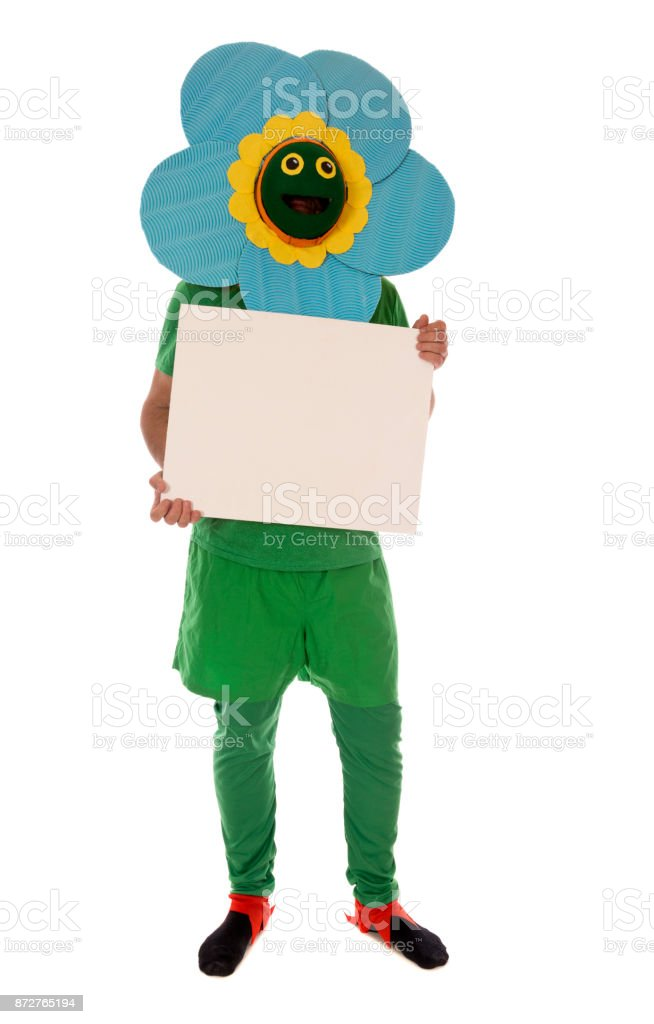 Blume-Kostüm Lizenzfreies stock-foto