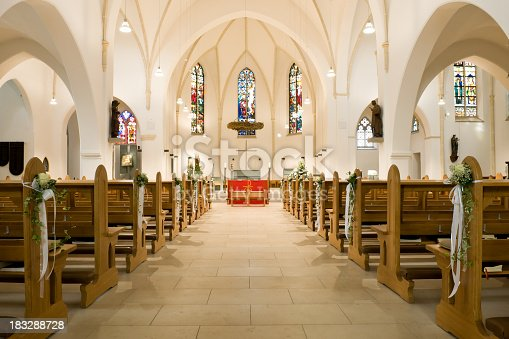 Empty church before a wedding ceremonyPlease see some similar pictures from my portfolio: