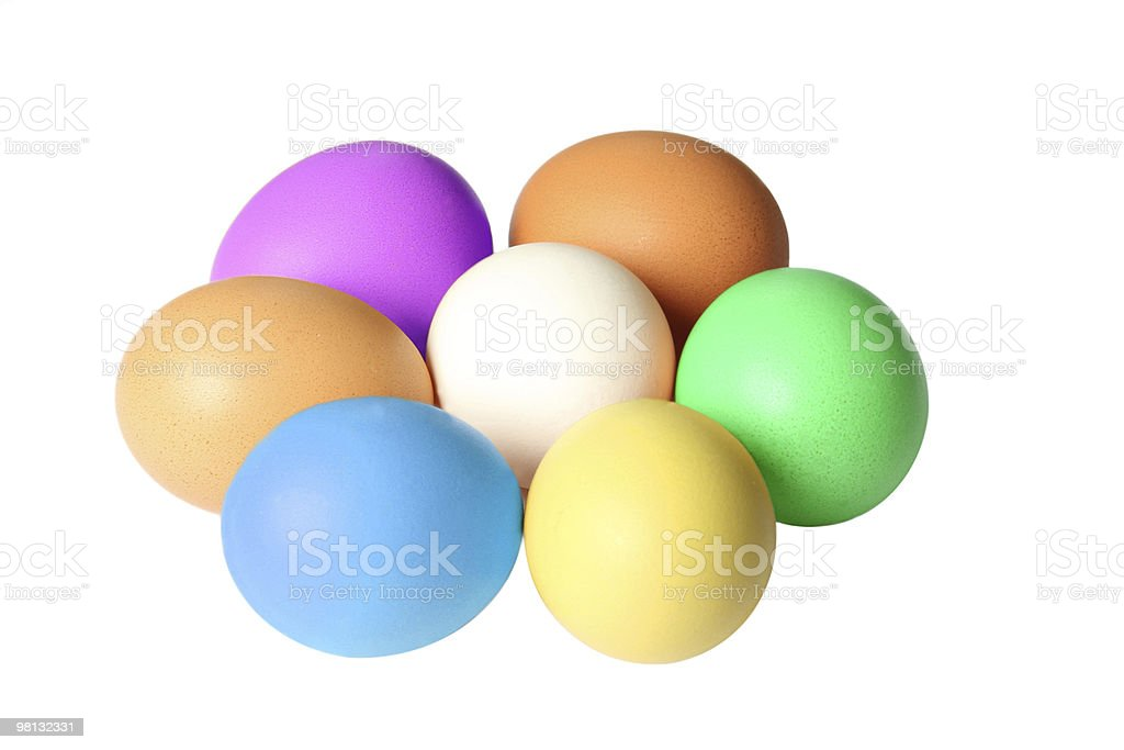 Flower eggs royalty-free stock photo