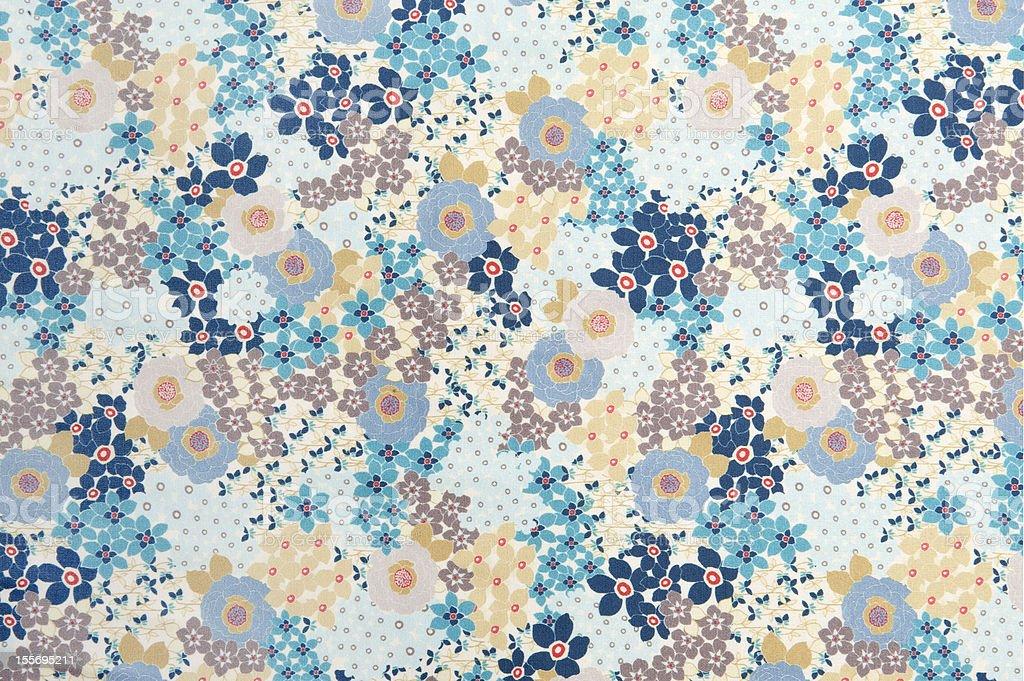 Flower fabric royalty-free stock photo